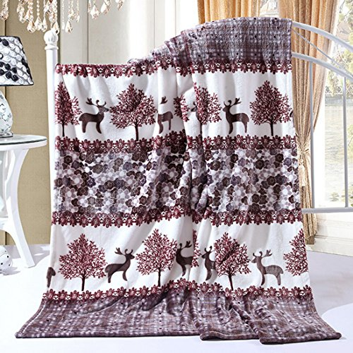 Christmas Throw Blankets,Fleece Blankets for Bed Couch Soft Warm Sofa Blanket(59