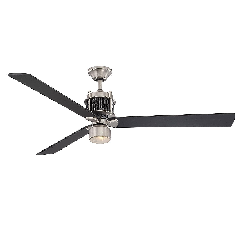 savoy house cn muir  blade ceiling fan in  - savoy house cn muir  blade ceiling fan in byzantine bronze  amazoncom