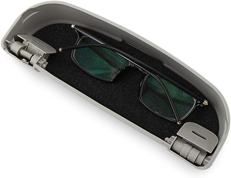 F/ür///Auto ABS Sonnenbrillenhalter Brillen Aufbewahrungsbox Fall F/ür Mitsubishi ASX Lancer 10 9 Outlander Pajero Zubeh/ör