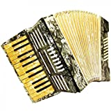 Vintage Piano Accordion 32 Bass, Lightweight Garmon For Beginners Children. Made in Germany, Beautiful sound. 830