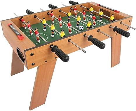 JKLL Juegos y accesorios de mesa de futbolín, tamaño mini - Diversión, portátil, Tableros de futbol de