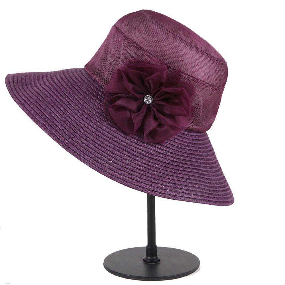 Shuo lan hu wai Der Hut der Frauen faltet die Sonnenhaube im Sommer, um Sich gegen die Sonne zu schützen