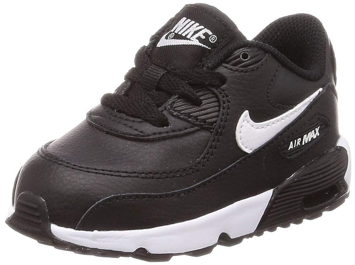 MultiCouleure (noir blanc Anthracite 025) Nike Air Max 90 LTR (TD), Chaussures d'Athlétisme garçon 26 EU
