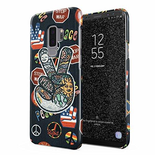 bb9e1b78f54 Glitbit Funda para Samsung Galaxy S9 Plus Case Bae Kawaii Aesthetic Crybaby  Emoji Tumblr Embroidery Patch Babe, Funda Protectora de Plástico Duro y  Duradero ...