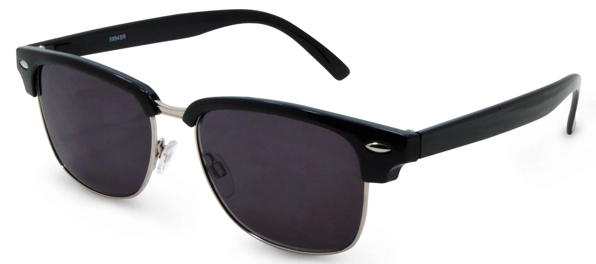 San Francisco Full Sunreaders (Black, 1.50) by MK Eyeglasses