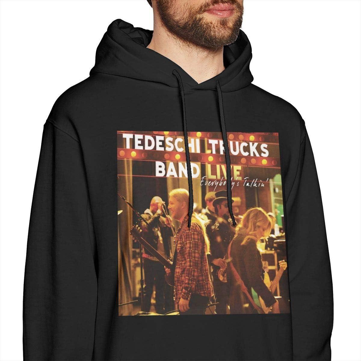 NOAH MAHMOOD Tedeschi Trucks Music Band Sweatshirts for Men Hoodies Black