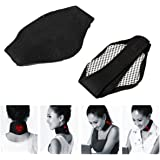 AGE CARE Neck Brace - Self Heating brace Magnetic Therapy Wrap Protect band Neck Neck Support Magnetic Physical Therapy Neck Belt, Magnetic Tourmaline Thermal Self-heating Neck Pad,Spontaneous Heat Neck Guard relief the Stiff Neck Pain & Headache 1Pcs