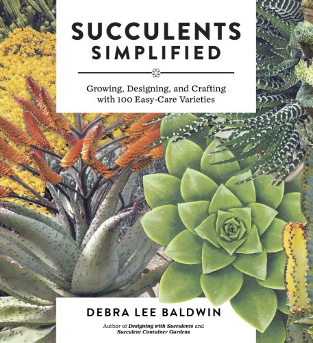 Succulents Simplified: Growing, Designing, and Crafting with 100 Easy-Care Varieties by [Baldwin, Debra Lee]