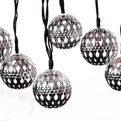 LuckLED Solar Powered Christmas Lights, Fairy String Lights for Outdoor, Gardens, Homes, Wedding, Christmas Party, Waterproof