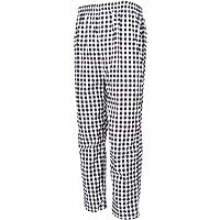 non-brand Pantalones de Cocinero Ropa de Trabajo Hotel