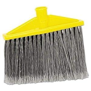 Rubbermaid FG639700GRAY Angled Broom Head for 6351/6355 Handles