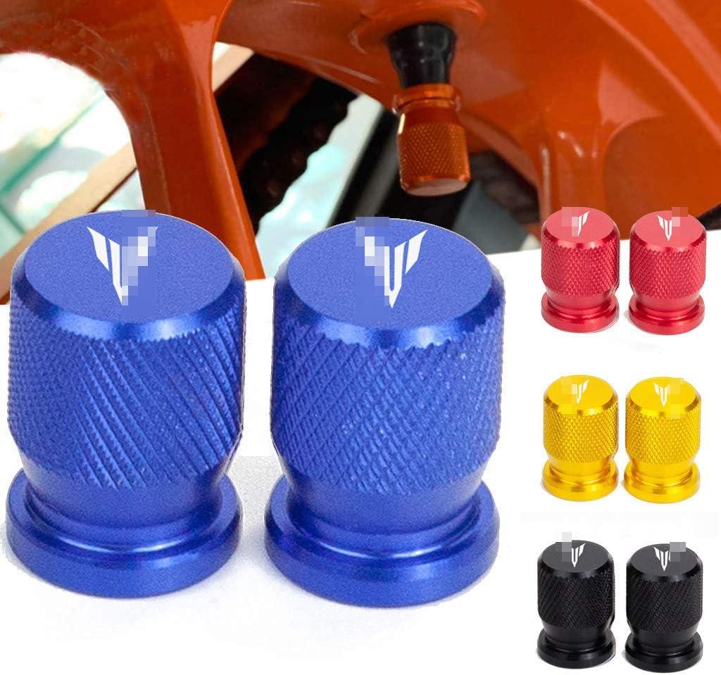 massage 2 Pcs Moto Bouchon De Valve Couvercle Valve Pneu Valve Pneu Housse Style De Moto pour Yamaha MT-03 MT-07 MT-09 MT-10 MT 03 07 09 125 10