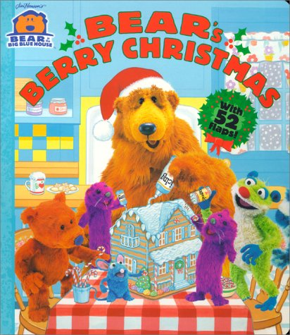 bears berry christmas bear in the big blue house kitty richards laurie struck long 9780689834288 amazoncom books - Bear In The Big Blue House A Berry Bear Christmas