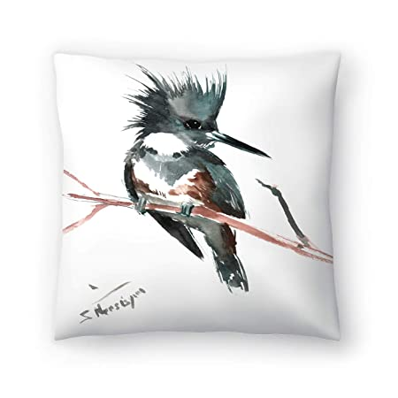 Buy American Flat Belted Kingfisher Pillow By Suren Nersisyan 20 X 20 Online At Low Prices In India Amazon In