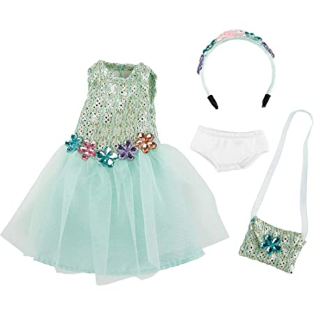 Kathe Kruse 0126868 Vera Geburtstag Outfit Hellblau Amazon De