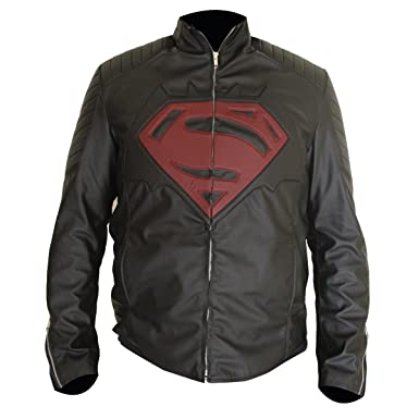 445ee05154bb3 Mens Black Super Jacket with Super S   B Logo for Man at Amazon ...