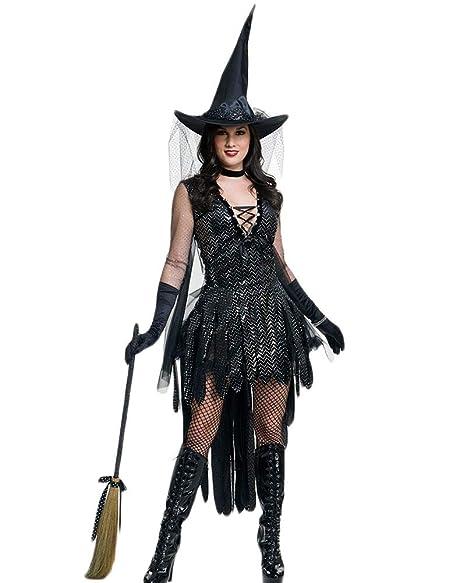 Vestiti Halloween Strega.Costume Da Strega Vestito Costume Da Strega Halloween Da Donna