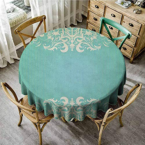(Rank-T Round Tablecloth and placemats 67