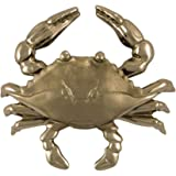 Blue Crab Door Knocker - Nickel Silver (Standard Size)