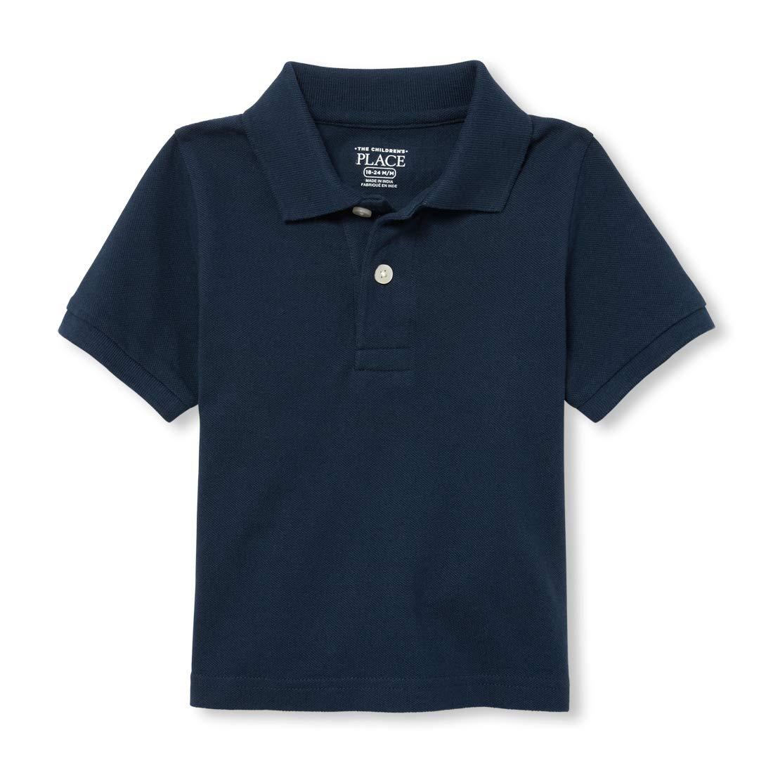 5f57791ee School Polo Shirts With Zip