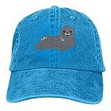 GqutiyulU Cute Seal Adult Cowboy Hat RoyalBlue