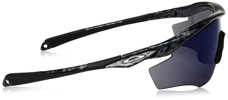 98b9b135f5 Amazon.com  Oakley Men s M2 Frame Non-Polarized Iridium Rectangular  Sunglasses CARBON FIBER 0 mm  Clothing
