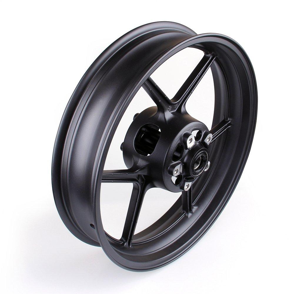 Artudatech Front Wheel Rim For Kawasaki ZX6R 2009-2010 ZX10R 2006-2010 Black by Artudatech (Image #4)