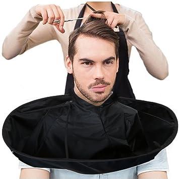 Hair Cutting Cloak Umbrella Cape Home Salon Haircut