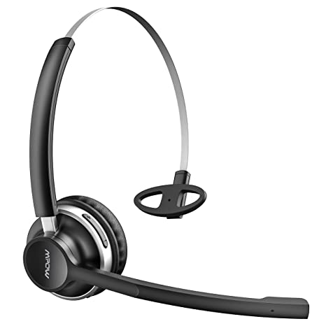 Auriculares Bluetooth con Micrófono Dual, 13 Horas Duración, Mpow HC3 Auriculares Inalámbricos con Cancelación