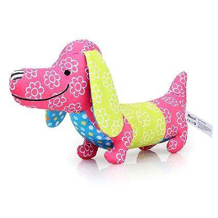 """Sungpunet - Peluche de peluche con diseño de perro con texto en inglés""""Cartoon Creative"""