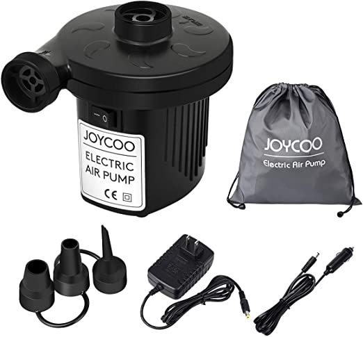 Amazon Com Joycoo Electric Air Pump Air Mattress Pump Airbed Pump