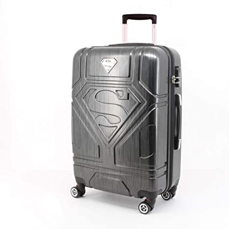 Amazon.com : DC Comics Superman Trolley ABS 65cm 4 Wheels : Office Products