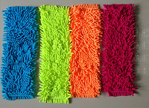 The microfiber mop refills are smart for sensory and COLOR