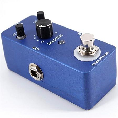 GSC-musical Pedal de Efectos de Guitarra Pitch Shifter portátil ...