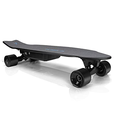 E-ASUM AS01 Electric Skateboard, 350W Hub-Motor Skateboards, 13MPH TOP Speed, 10 Miles Range, 7 Layers Maple E Skateboard with Wireless Remote Control(US Stock) : Sports & Outdoors