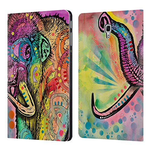 Official Dean Russo Mammoth Prehistoric Leather Book Wallet Case Cover for Samsung Galaxy Tab A 10.5 -
