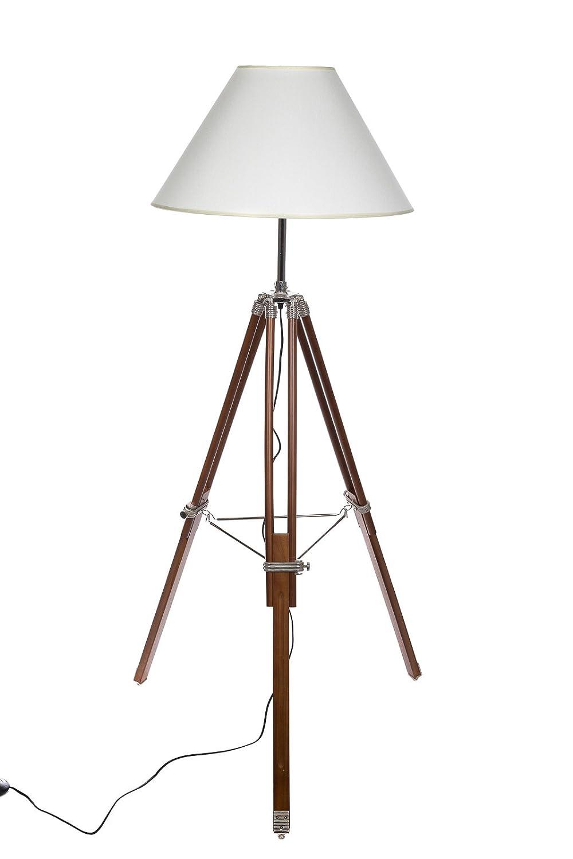 Enorme XXL lámpara de pie trípode en trípode Look Style, F ...