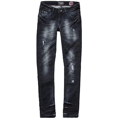 6cb69370572ef1 Vingino Vingino Amella Mädchen Jeans destroyed Effekte DG1640017 ...