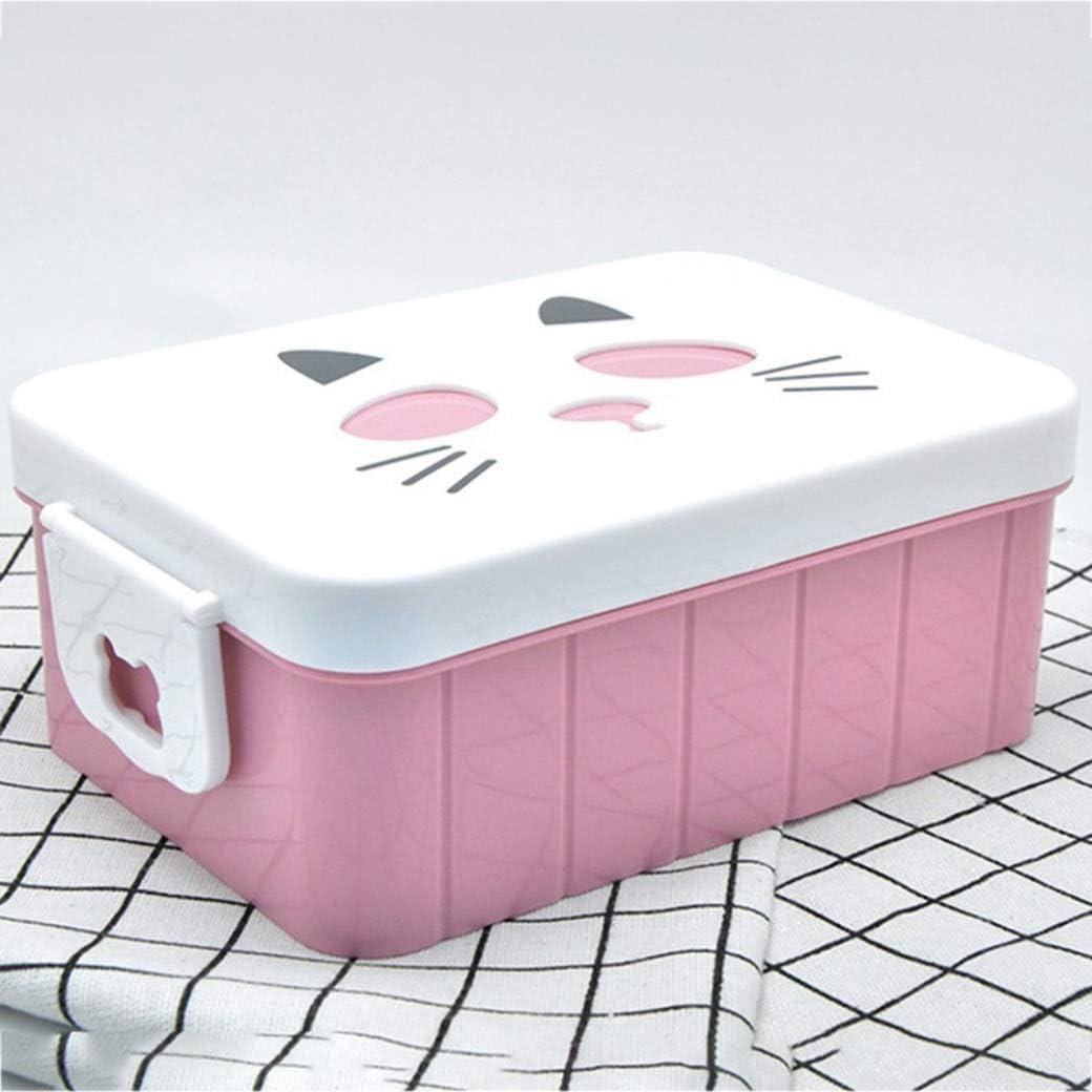None BL Riky Rare BPA Free Portable Lunch Box Eco-friendly Wheat Straw Microwaveble Bento Box