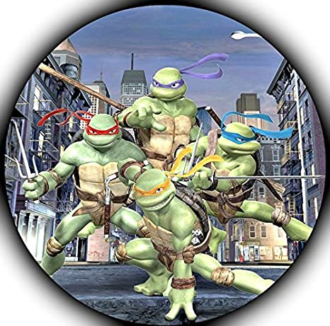 Teenage Mutant Ninja Turtles 90s TMNT Edible Image Photo Sugar Frosting Icing Cake Topper Sheet Birthday Party - 8