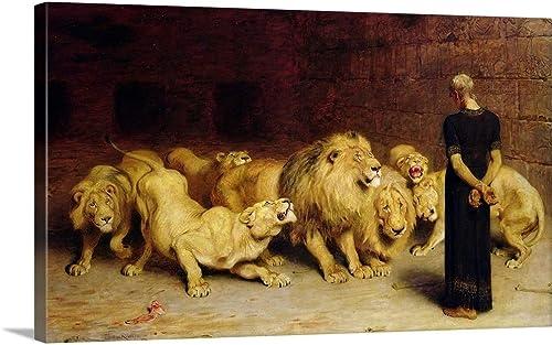 GREATBIGCANVAS Daniel Canvas Wall Art