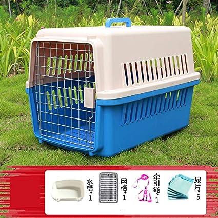 ZUOZUOZUO Mascota Caja De Aire Perro Gato Jaula Gato Salida Perro ...