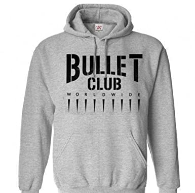 3bb879c90be1a Squared Circle Bullet Club Worldwide WWE Wrestling Wrestler Unisex Pullover  Hoodie Sweatshirt Many Sizes S-