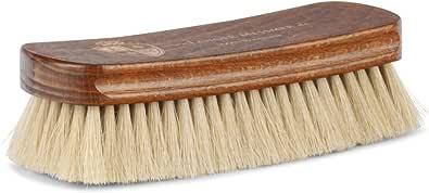 Langer & Messmer cepillo lustrador | Cepillo de crin para pulir los zapatos