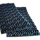 "2"" SoundTraxLG PRO Studio Acoustic Foam 96 sf - Charcoal"