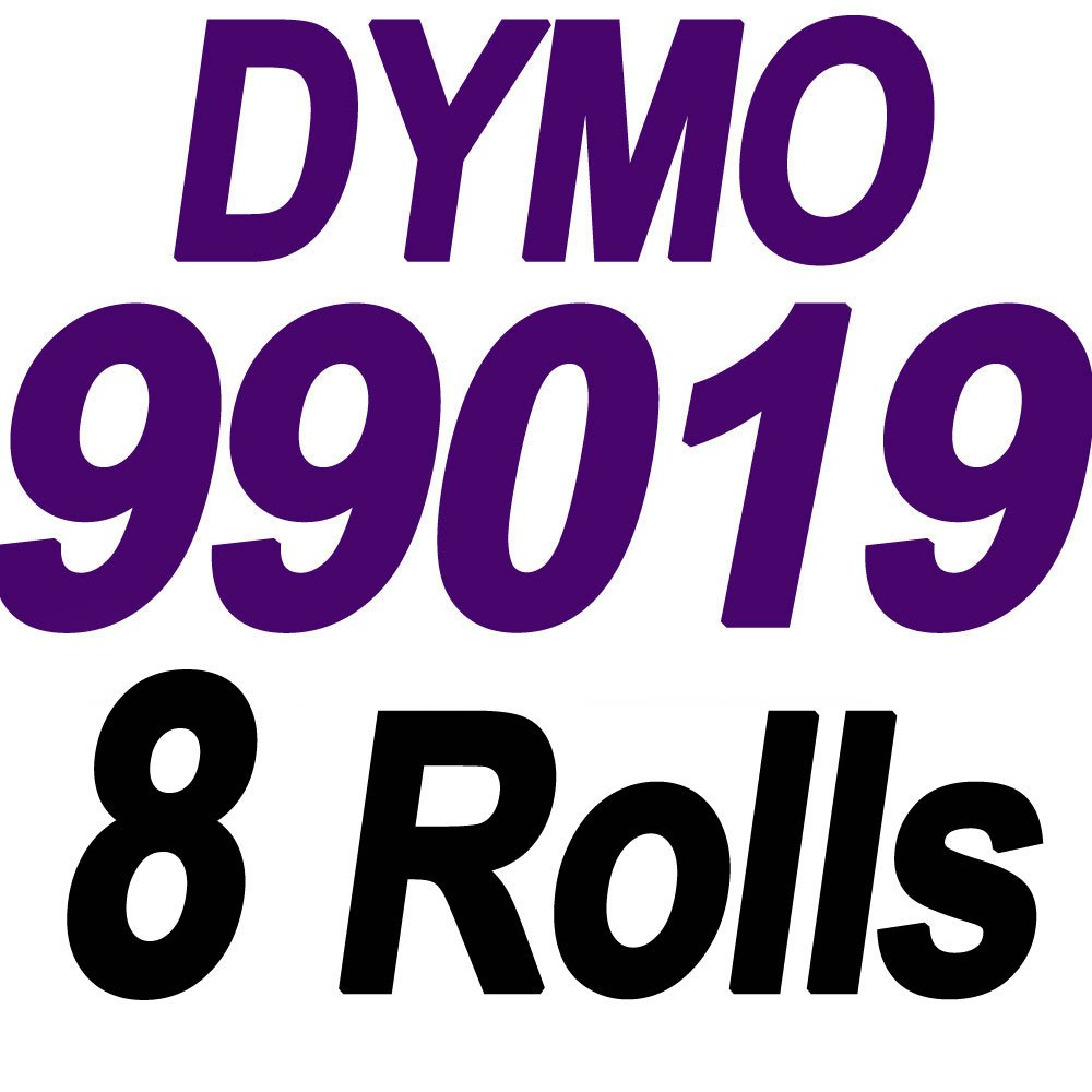 8 Rolls Compatible DYMO 99019 Label LW 1 Part Paypal/Ebay Internet Postage Labels (2 5/16'' x 7 1/2'') for LabelWriter 450 450 Turbo Label Printers -(110 per Roll) Self-Adhesive White by COLORWING (Image #1)