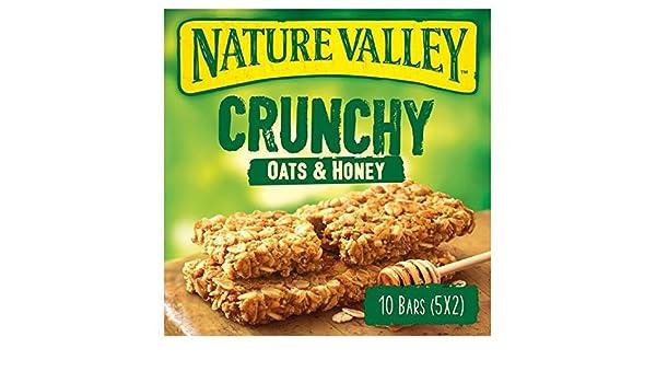 Nature Valley barras de granola avena y miel 5 x 42g: Amazon.es: Alimentación y bebidas