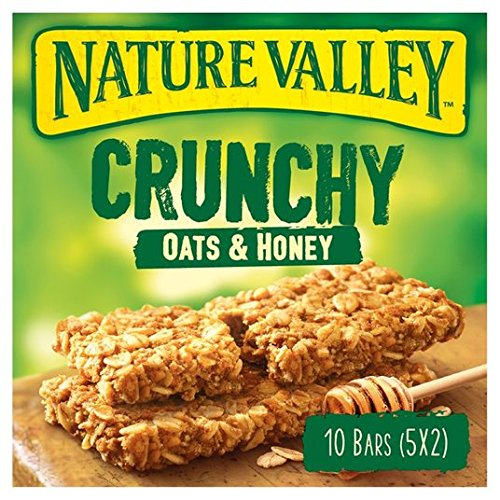 Nature Valley barras de granola avena y miel 5 x 42g: Amazon ...