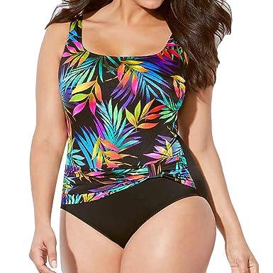 833d73e299421 Gocheaper Sexy Women One Piece Print Swimsuit Push Up Padded Bikini Swimwear  (Black