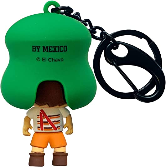 By Mexico 3D Keychain Mexican Designs